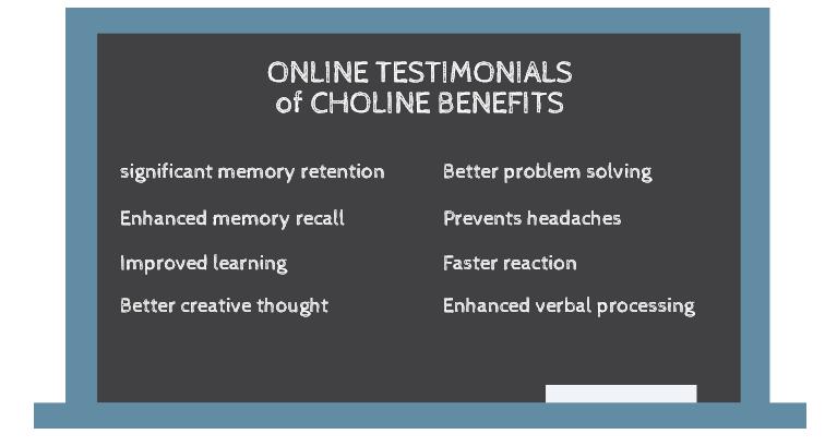 Choline Testimonials