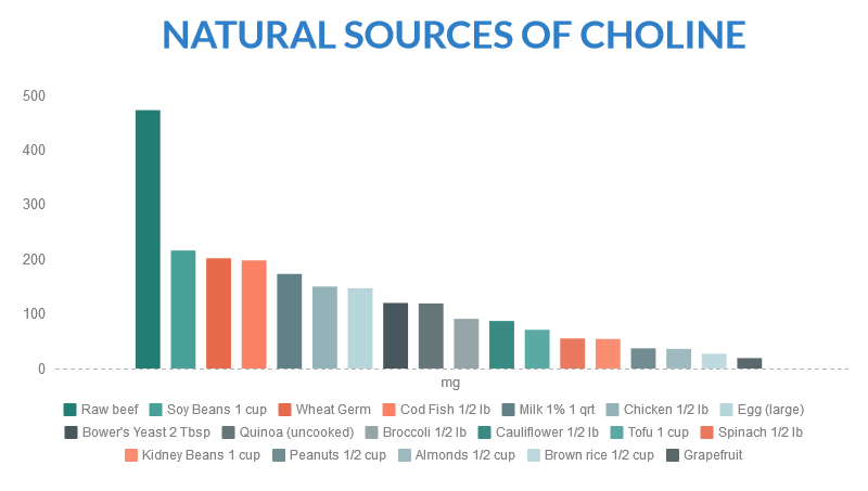 Natural Sources of Choline